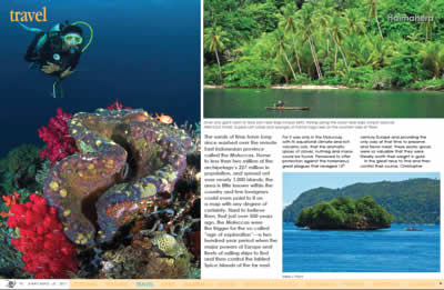Travel Article - X-Ray Magazine by Don Silcock (from a City Seahorse trip)