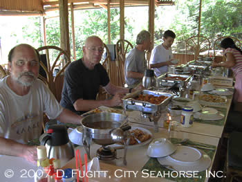 Divers Lodge Lembeh Dining Table